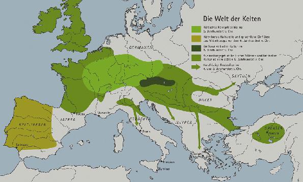 1 - Karte-keltengebiet